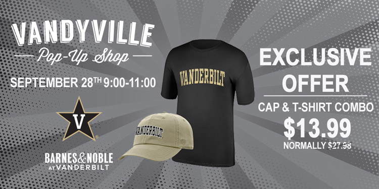 Vandyville pop-up shop Sept. 28