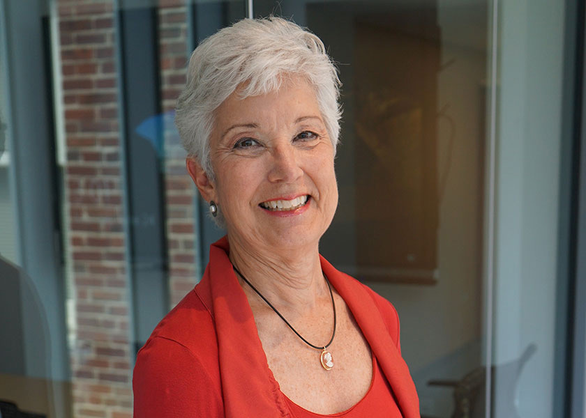 Susie Adams, longtime director of the School of Nursing's psychiatric program and currently VUSN's Faculty Scholar for Community Engaged Behavioral Health