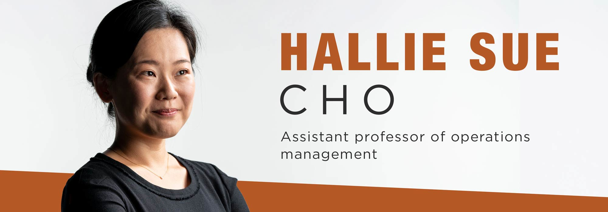 New faculty Hallie Sue Cho: Beyond star ratings