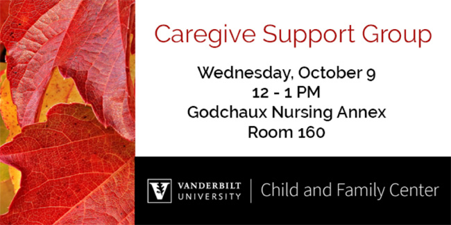 Caregiver Support Group banner image