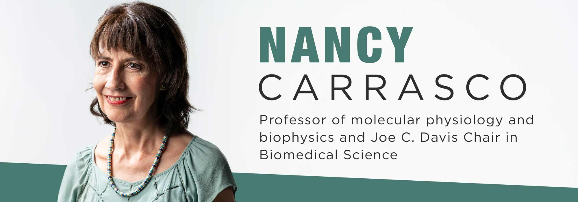 New faculty Nancy Carrasco: From one side of the membrane to the other