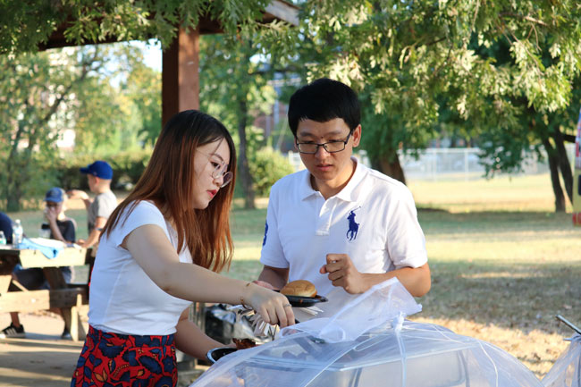 A picnic for postdoctoral scholars and their families was held at Fannie Mae Dees Park for National Postdoc Appreciation Week Sept. 16-20.