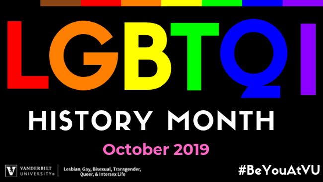 LGBTQI History Month October 2019