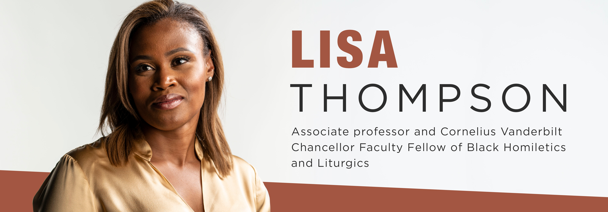 New faculty Lisa Thompson: 'Love' as an action word