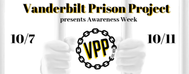 Vanderbilt Prison Project Awareness Week is Oct. 7-11