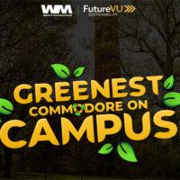 Greenest Commodore on Campus