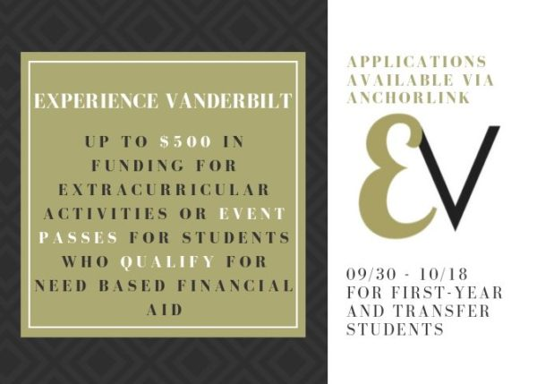 Experience Vanderbilt application graphic