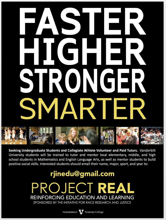 Project REAL flyer