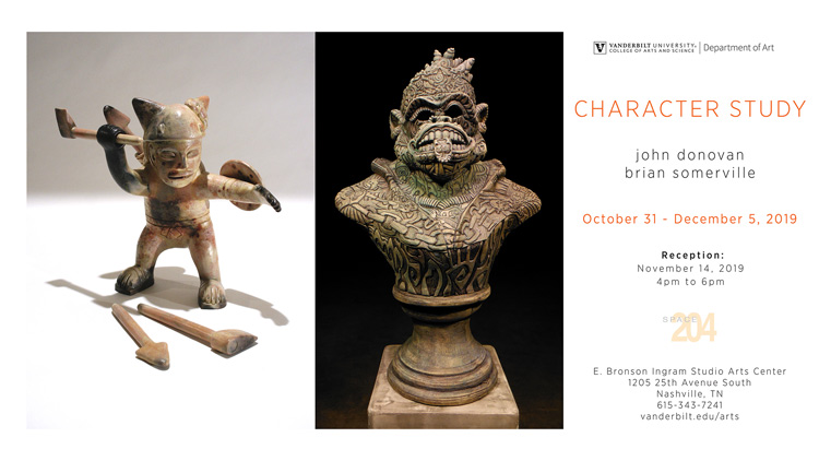"""Character Study"" at Space 204 Oct. 31-Dec. 5"
