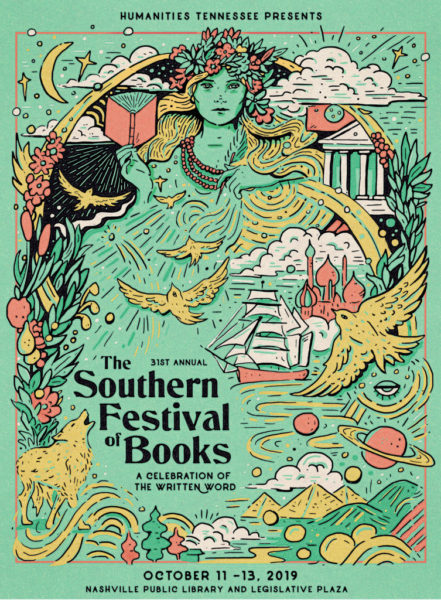 Poster art for the 2019 Festival by Nashville artist Rachel Briggs
