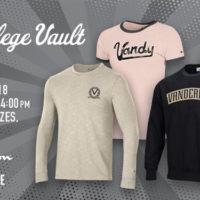 College Vault merchandise