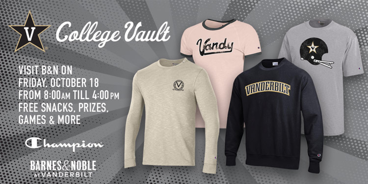 Vintage-inspired merchandise collection available during Vanderbilt Reunion Oct. 18–19