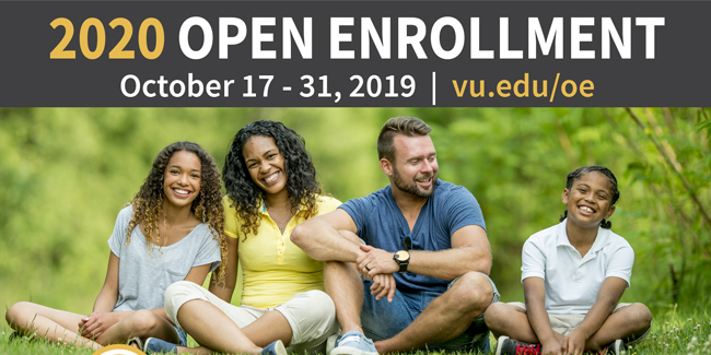 Open Enrollment for 2020 benefits is Oct. 17–31
