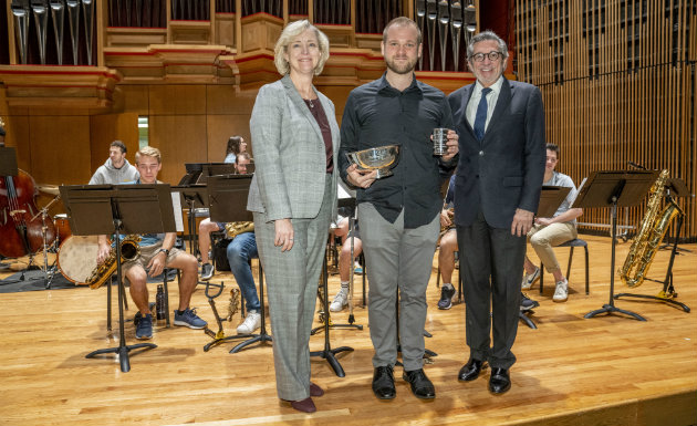Blair School's Ryan Middagh awarded 2019 Chancellor's Cup