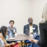 16 individuals from across the university participated in an unconscious bias train-the-trainer workshop over four days at Scarritt Bennet Center (John Russell/Vanderbilt University)