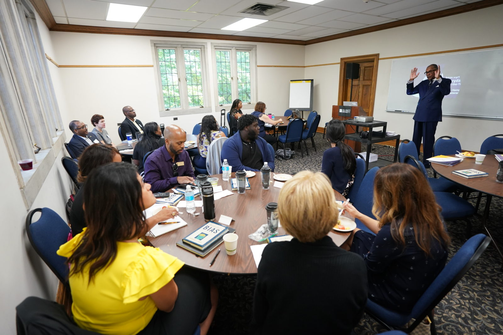Participants at the unconscious bias train-the-trainer workshop (John Russell/Vanderbilt University)