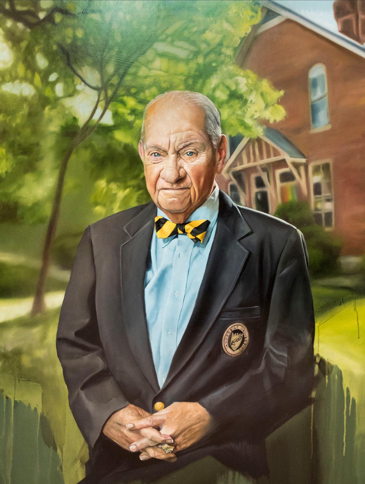 Vanderbilt Trailblazer portrait of K.C. Potter (painted by Jared Small)