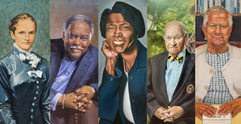 Five Vanderbilt Trailblazer portraits unveiled