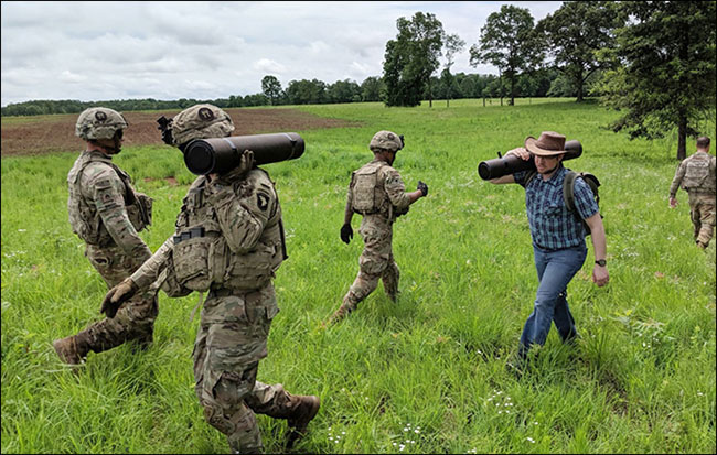 U.S. Army innovation field exercise