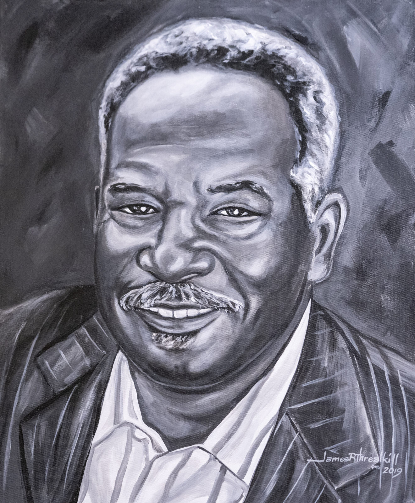 Legacy Pioneer Portrait of David Williams II by James Threalkill. (John Russell/Vanderbilt University)