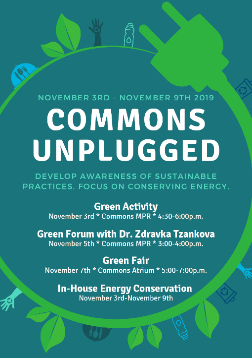 Commons Unplugged event flyer