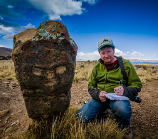 Andean monoliths (courtesy of Professor Andy Roddick)