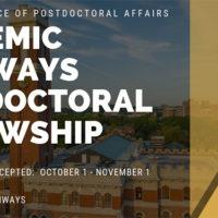Academic Pathways Fellowship Program
