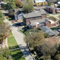 Aerial photograph of the West End neighborhood