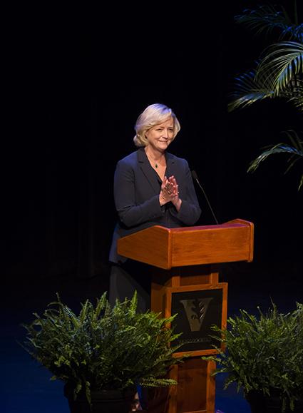 Interim Chancellor and Provost Susan R. Wente (Susan Urmy/Vanderbilt)