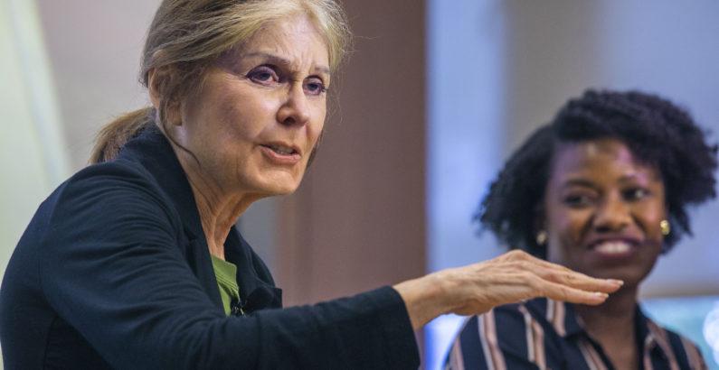 Steinem encourages collaboration, cross-generational dialogue for modern feminists during Vanderbilt talk