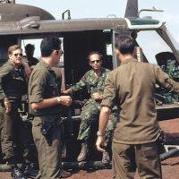 Image from Vietnam War documentary by journalist Morton Dean