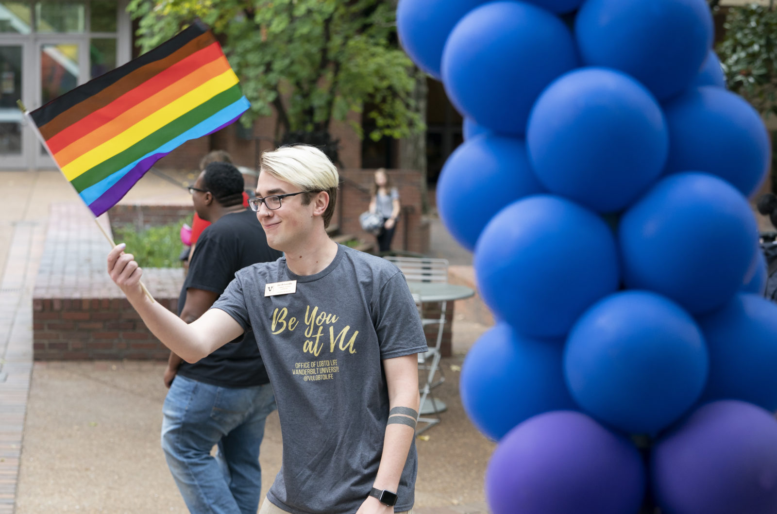 National Coming Out Day at Fleming Yard and Rand Patio on Oct. 11 (Joe Howell/Vanderbilt University)