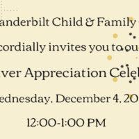 Caregiver Appreciation Celebration