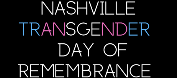 Transgender Day of Remembrance graphic.