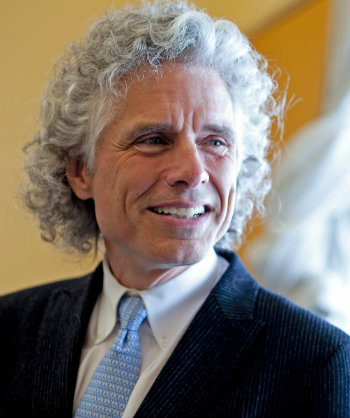 Steven Pinker (courtesy of Rose Lincoln/Harvard University)