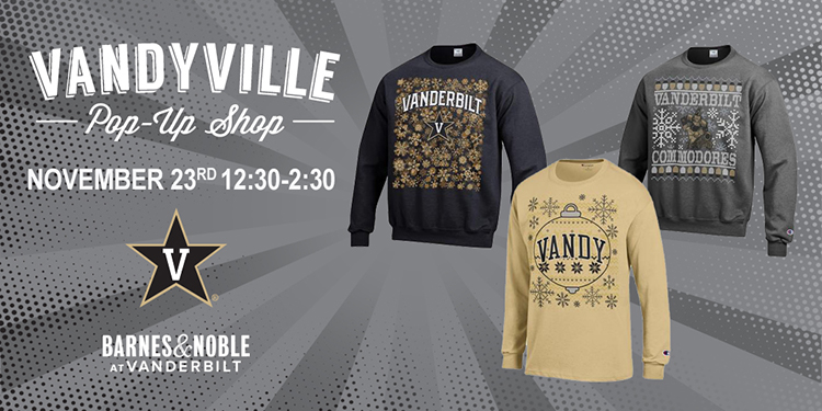 Vandyville pop-up shop holiday and cold-weather apparel
