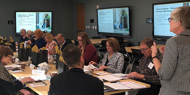 VUSN Dean's Advisory Board meeting