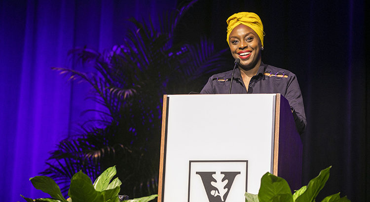 Adichie captures power of storytelling in feminism, empowerment during Chancellor's Lecture
