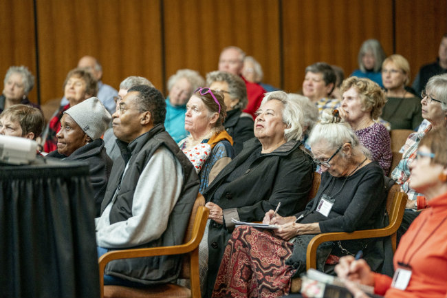 Vanderbilt's Osher Lifelong Learning classes are open to everyone 50 and older (photo by John Russell/Vanderbilt University)