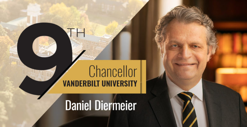 Internationally renowned scholar Daniel Diermeier named Vanderbilt University chancellor