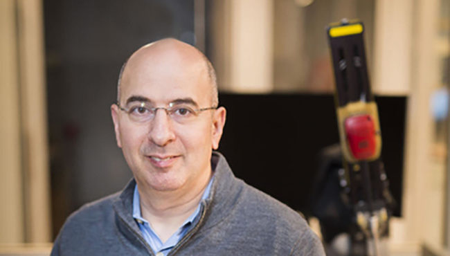Photo for Simaan honored as IEEE fellow for robotics advancements