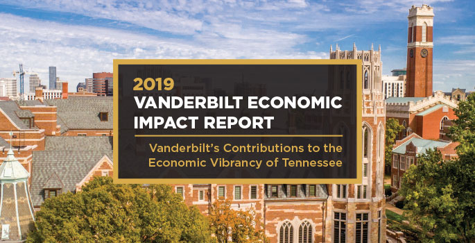 Photo for Vanderbilt reports record $11.9 billion economic impact in Tennessee