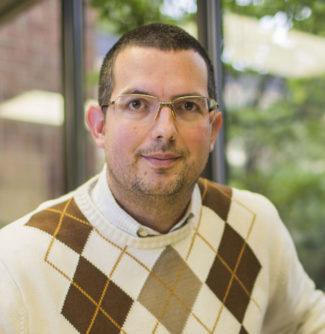 Doug Shadle, assistant professor of musicology (Anne Rayner/Vanderbilt University)