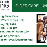 Navigating Elder Care banner image
