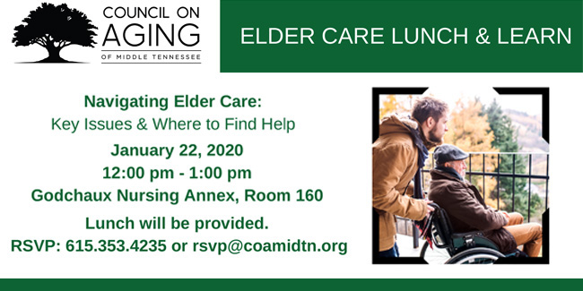 Navigating Elder Care banner image