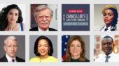 Cooper, Ferrera, Bolton, Rice to speak at spring Chancellor's Lecture Series