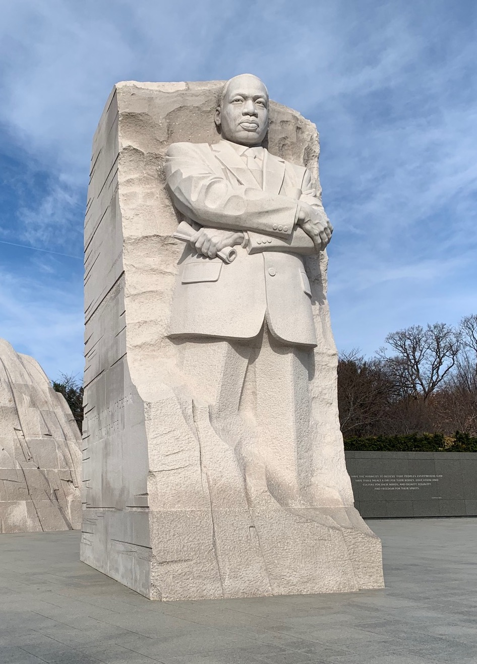 The Martin Luther King Jr. Memorial in Washington, D.C. (photo courtesy of Susan R. Wente/Vanderbilt)