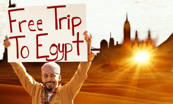 """A free screening of """"Free Trip to Egypt"""" is scheduled for Jan. 26."""
