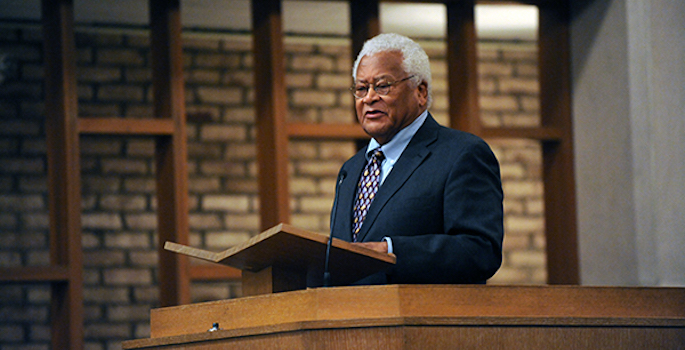 The Rev. James Lawson receives NAACP Chairman's Award for integral contributions to racial justice