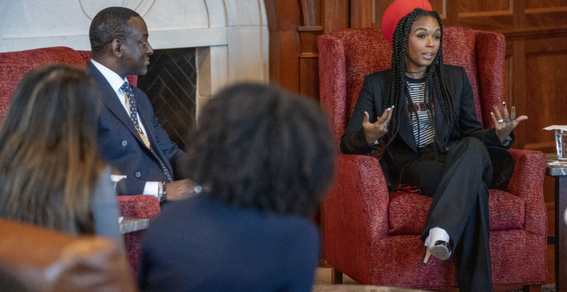 Monáe, Salaam emphasize the interconnectedness of storytelling and truth in MLK Commemorative Series keynote